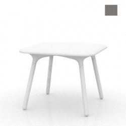 Table Sloo 90, Vondom anthracite 90x90x72 cm