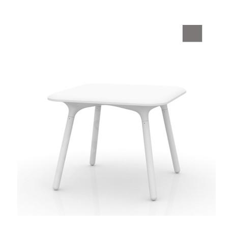 Table Sloo 90, Vondom anthracite 90x90x72 cm