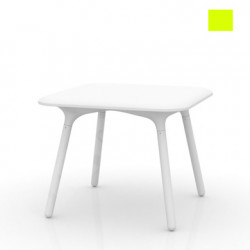 Table Sloo 90, Vondom pistache 90x90x72 cm