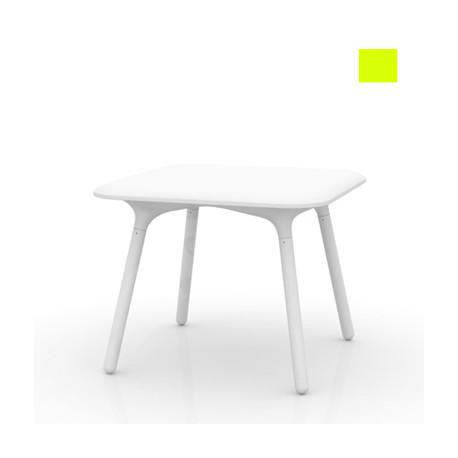 Table Sloo 90, Vondom pistache 90x90x72 cm