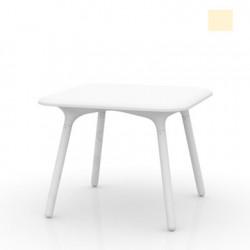 Table Sloo 90, Vondom beige 90x90x72 cm