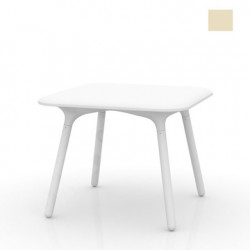 Table Sloo 90, Vondom écru 90x90x72 cm