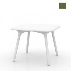 Table Sloo 90, Vondom kaki 90x90x72 cm