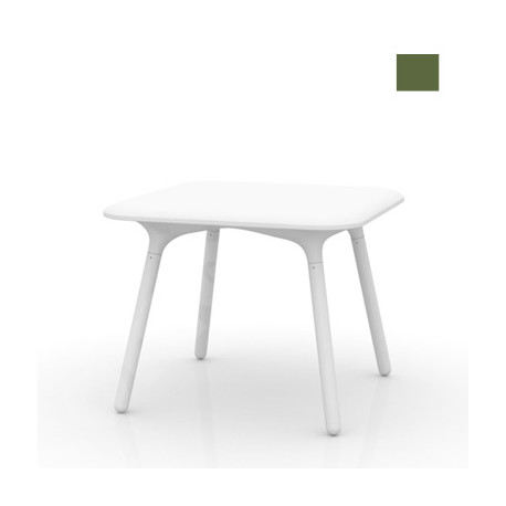 Table Sloo 90, Vondom kaki 90x90x72 cm
