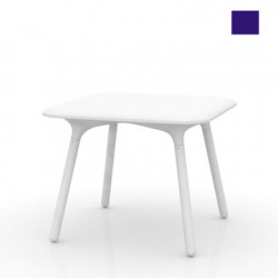 Table Sloo 90, Vondom bleu 90x90x72 cm
