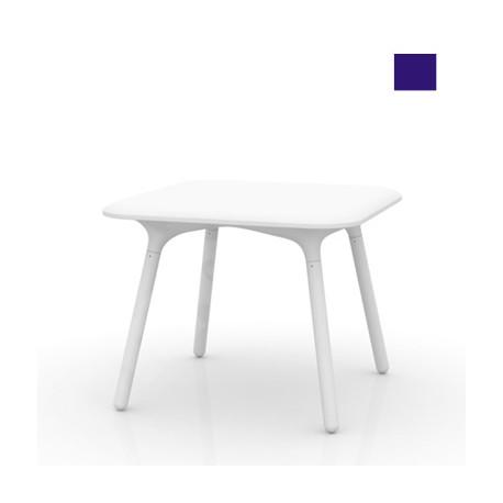 Table Sloo 90, Vondom bleu 90x90x72 cm