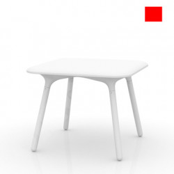 Table Sloo 90, Vondom rouge 90x90x72 cm