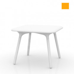 Table Sloo 90, Vondom orange 90x90x72 cm