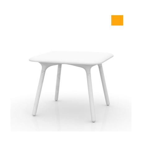 Table Sloo 90, Vondom orange 90x90x72 cm