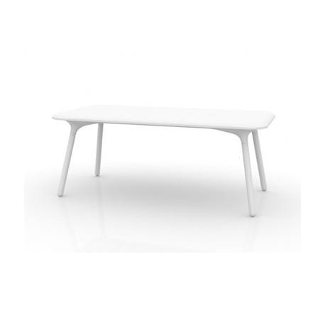 Table Sloo 180, Vondom blanc 180x90x72 cm