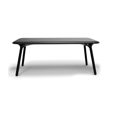 Table Sloo 180, Vondom noir 180x90x72 cm