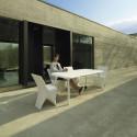 Table Sloo 180, Vondom acier 180x90x72 cm
