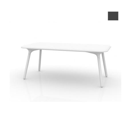 Table Sloo 180, Vondom anthracite 180x90x72 cm