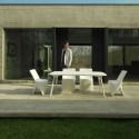Table Sloo 180, Vondom pistache 180x90x72 cm