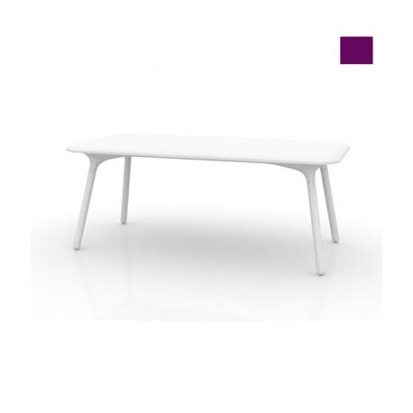Table Sloo 180, Vondom violet 180x90x72 cm