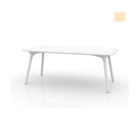 Table Sloo 180, Vondom beige 180x90x72 cm