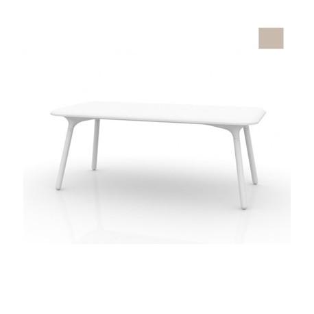 Table Sloo 180, Vondom ecru 180x90x72 cm