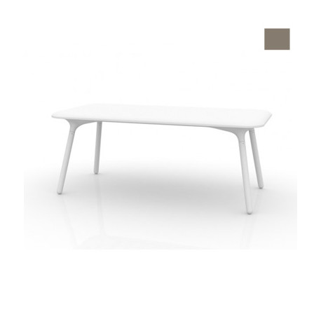 Table Sloo 180, Vondom taupe 180x90x72 cm