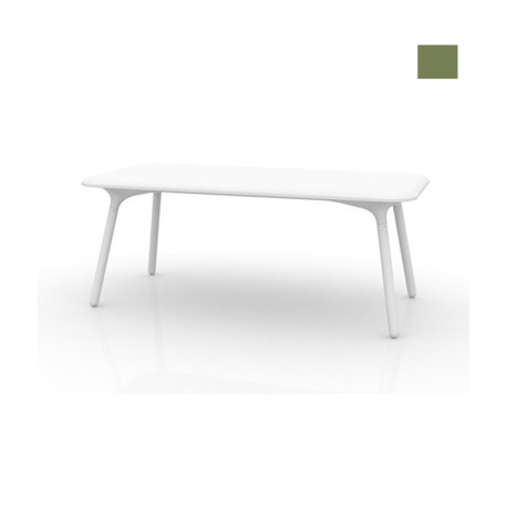 Table Sloo 180, Vondom kaki 180x90x72 cm