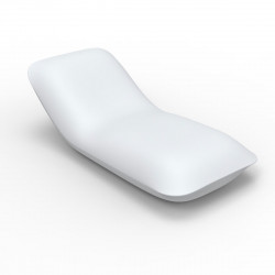 Chaise longue Pillow, Vondom blanc Mat