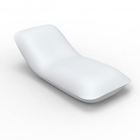 Chaise longue Pillow, Vondom blanc Mat