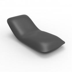 Chaise longue Pillow, Vondom gris anthracite Mat