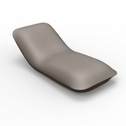 Chaise longue Pillow, Vondom taupe Mat