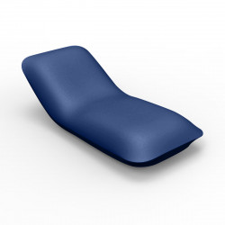 Chaise longue Pillow, Vondom bleu Mat