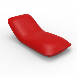 Chaise longue Pillow, Vondom rouge Mat