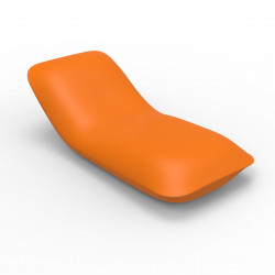 Chaise longue Pillow, Vondom orange Mat