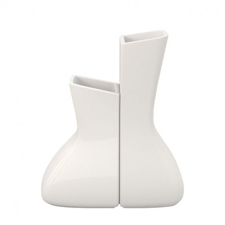 Pot Moma Mellizas, Vondom blanc Hauteur 130 cm