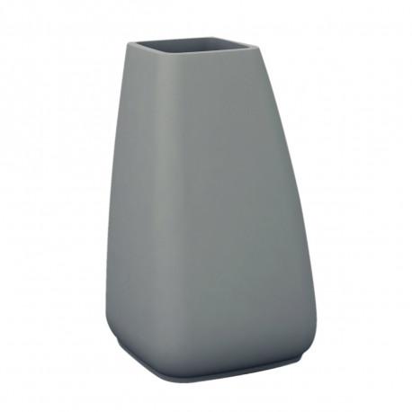 Pot Moma, Vondom gris acier Hauteur 80 cm