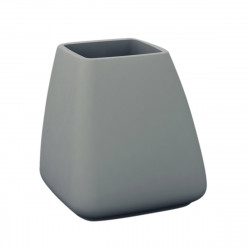 Pot Moma, Vondom gris acier Hauteur 70 cm