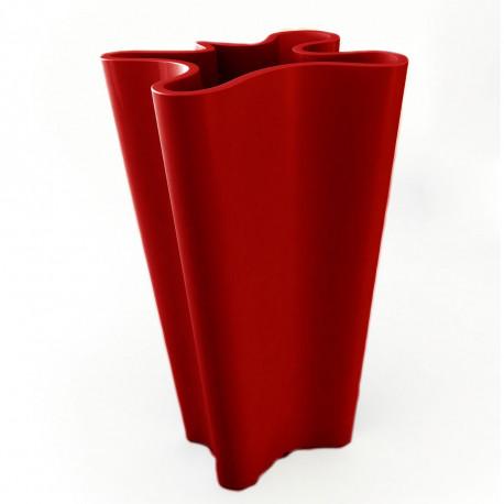 Pot Bye Bye, Vondom rouge Hauteur 70 cm