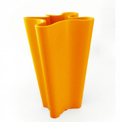 Pot Bye Bye, Vondom orange Hauteur 100 cm