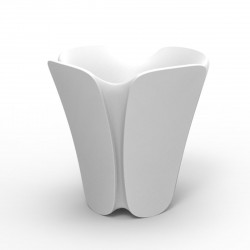Pot design Pezzettina, Vondom blanc 50x50xH50 cm