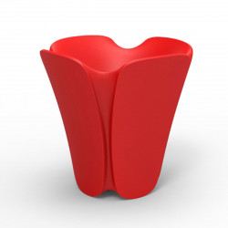 Pot design Pezzettina, Vondom rouge 50x50xH50 cm