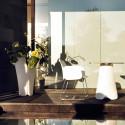 Pot design Pezzettina, Vondom blanc 50x50xH85 cm