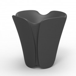 Pot design Pezzettina, Vondom anthracite 65x65xH65 cm