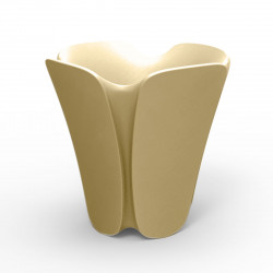 Pot design Pezzettina, Vondom beige 65x65xH65 cm