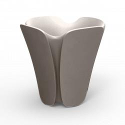 Pot design Pezzettina, Vondom taupe 65x65xH65 cm