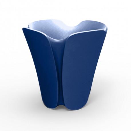 Pot design Pezzettina, Vondom bleu 65x65xH65 cm