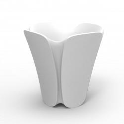 Pot design Pezzettina, Vondom blanc 85x85xH85 cm