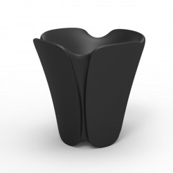 Pot design Pezzettina, Vondom noir 85x85xH85 cm