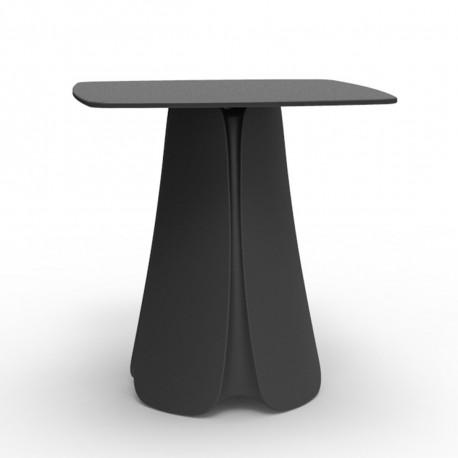 Table design Pezzettina, Vondom anthracite 70x70xH72 cm