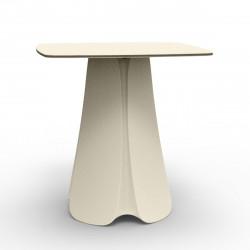 Table design Pezzettina, Vondom écru 70x70xH72 cm
