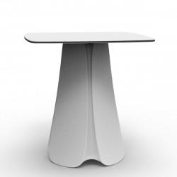 Table design Pezzettina, Vondom blanc 80x80xH72 cm