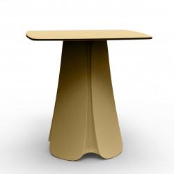 Table design Pezzettina, Vondom beige 80x80xH72 cm