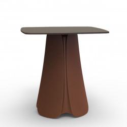 Table design Pezzettina, Vondom bronze 90x90xH72 cm