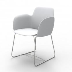 Chaise de repas Pezzettina, Vondom blanc